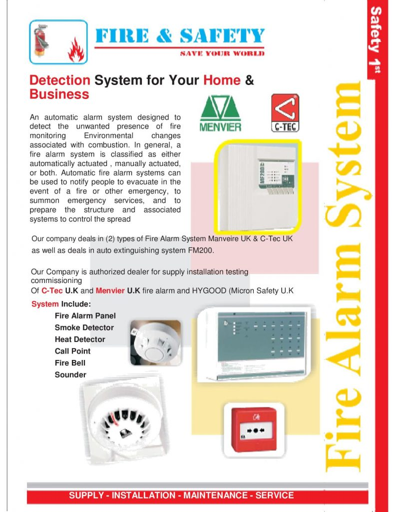 Fire Alram Systems