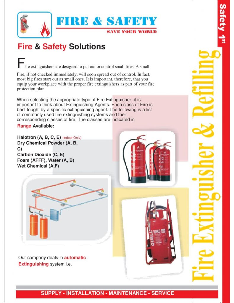 Fire Extinguisher Refilling