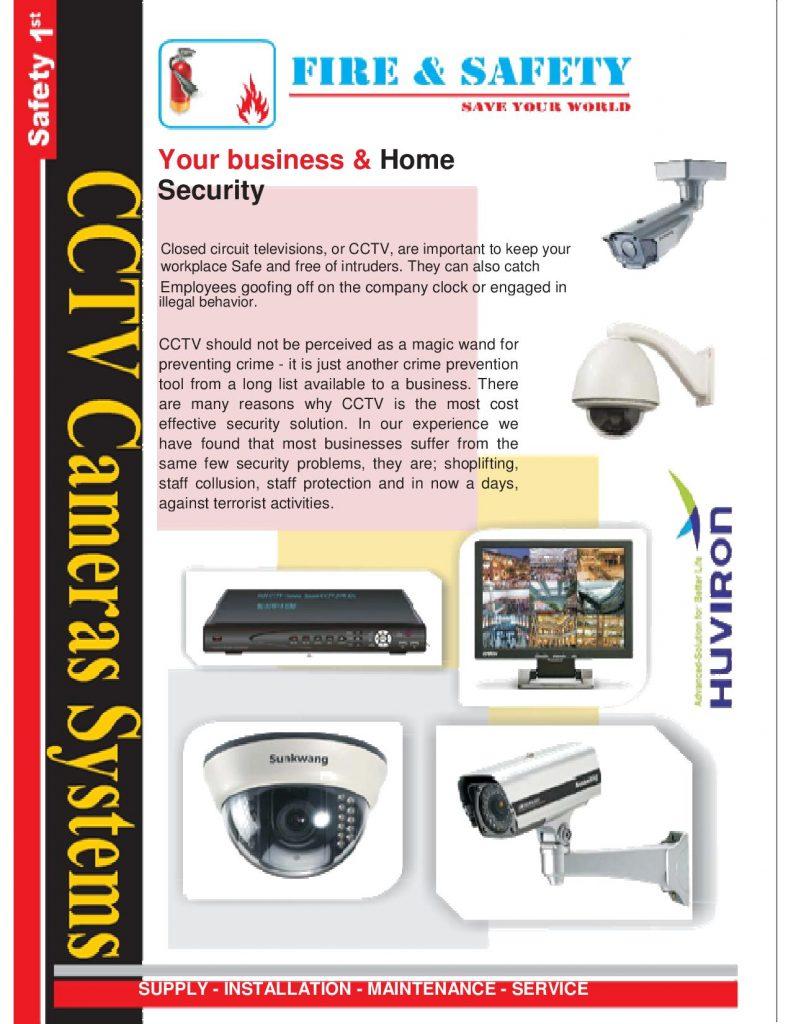 CCTV Cameras systems