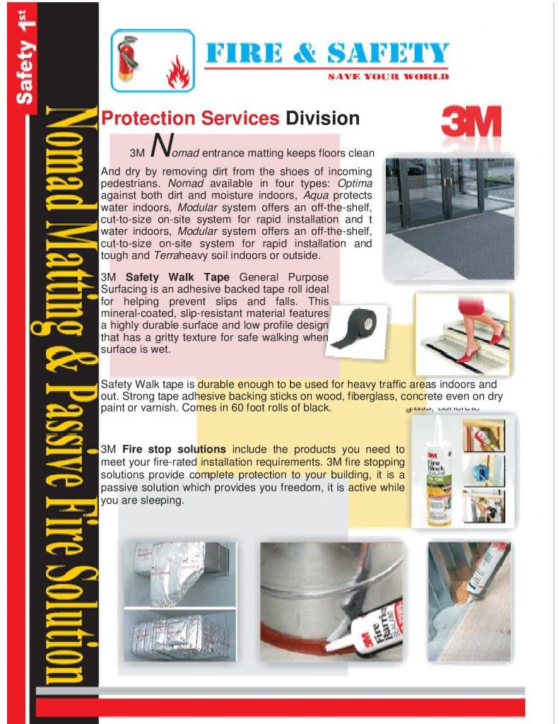 Nomad matting & passive fire solution (3M